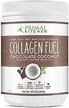 Primal Kitchen Collagen Peptide Drink Mix, Collagen Fuel, Chocolate Coconut, 13.9 oz (394 g)