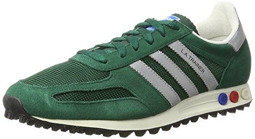adidas Herren La Trainer Og Gymnastikschuhe, Grün (Collegiate Green/Matte Silver/core Black), 36 EU
