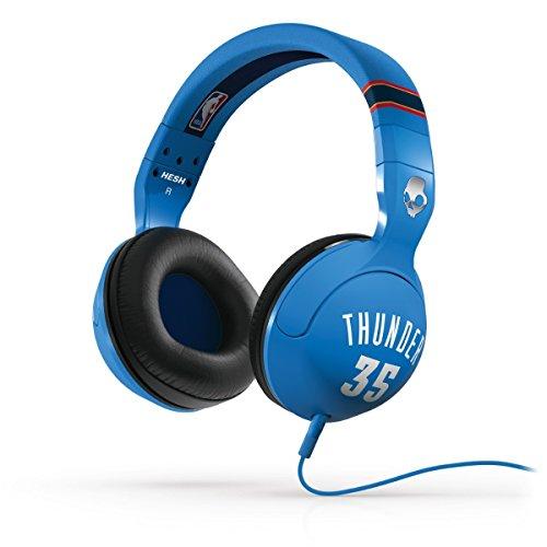Skullcandy Hesh 2.0 NBA Thunders Kevin Durant - Auriculares de diadema abiertos (con micrófono), (kevin durant)