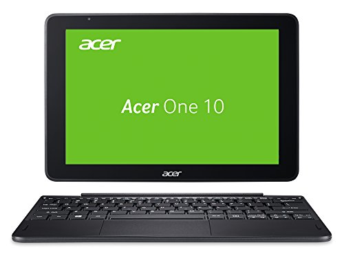 "Acer One 10 S1003-15RV 1.44GHz x5-Z8350 10.1"" 1280 x 800Pixel Touch screen Nero Ibrido (2 in 1) - [Germania]"