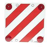 Placa de señalización de carga saliente, plástico no homologado
