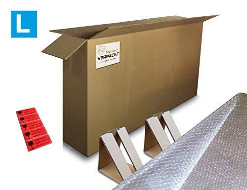 Verpackungsset für Fahrräder und E-Bikes inkl. Außen- und Innenverpackung