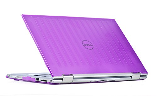 mCover Hard Shell Case for 11.6' Dell Inspiron 11 3147/3148 2-in-1 Convertible Laptop (Purple) (** NOT compatible with Dell Inspiron 11 model 3137/3138 touch screen **)