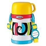 象印 (ZOJIRUSHI) 水筒 コップ しましまぐるぐる ステンレスボトル 0.45L SC-LH45S-EW