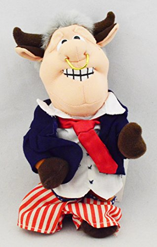 Infamous Meanies BULL Bill CLINTON Pants Down Political Satire Stuffed Animal