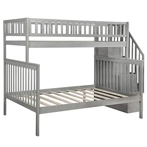A-myt cómodo y hermoso Dormitorio o hogar de niñas.La barandilla de longitud completa es robusta y práctica.Vale la pena para los niños, la litera de paso completo es infantil y elegante. Simple y gen