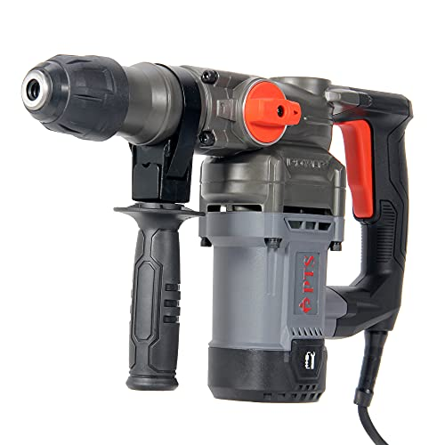 """PTS Corded Rotary Hammer Drill 1""""26mm 10Amp 110V Combination Rotary Hammer 