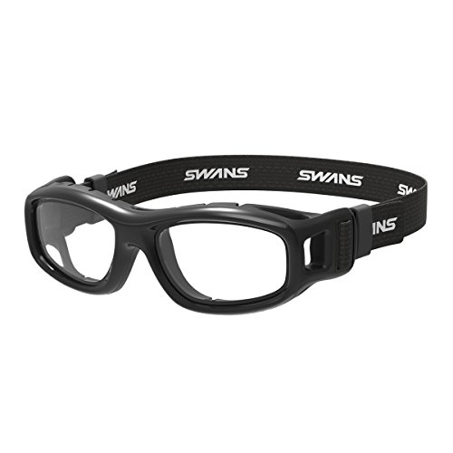 SWANS GDX-001 BK Guardian-X Eye Guard, Black, For Junior School Students and Adults.