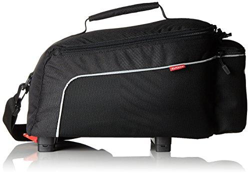 KlickFix Rack Pack Light Gepäckträgertasche, schwarz, One Size