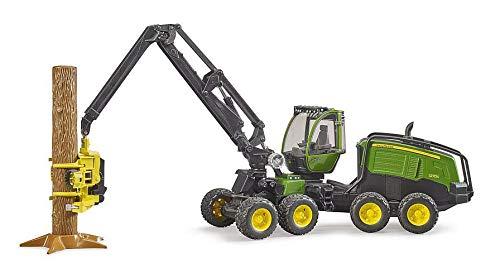 Widmann 02135 Bruder 02135-John Deere 1270G Harvester mit 1 Baumstamm