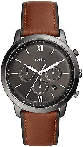 Fossil Orologio Cronografo Quarzo Uomo con Cinturino in Pelle FS5512