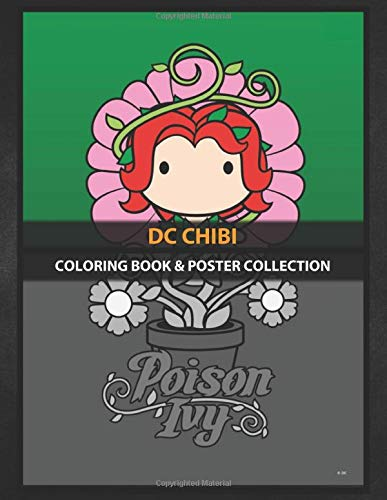 Coloring Book & Poster Collection: Dc Chibi Poison Ivy Comics