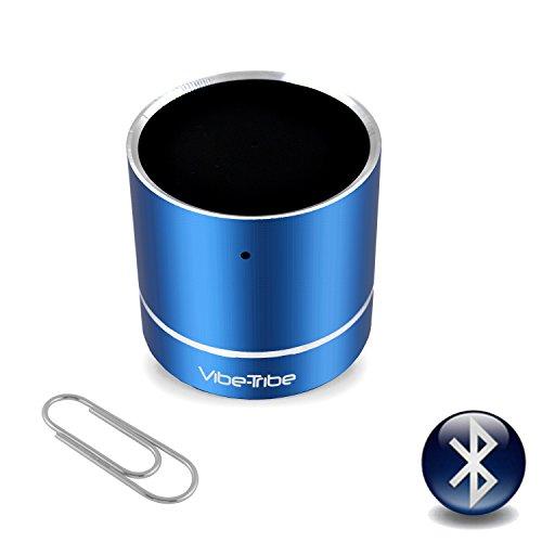 Vibe-Tribe Troll Mini - Yale Blue: 3 Watt Bluetooth Miniature Vibration Speaker, vivavoce, suction base integrata