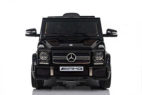 RC Kinderauto kaufen Kinderauto Bild 1: Kaufexpress Mercedes Benz G65 AMG Jeep SUV Kinderfahrzeug Kinderauto Elektroauto Fernbedienung MP3 Anschluss in Schwarz*