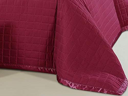 Zweiseitige Tagesdecke Bettüberwurf Sofadecke Steppdecke 1Tlg. (Ohne Kissenbezüge) (Burg&- Rota, 220x240 cm)