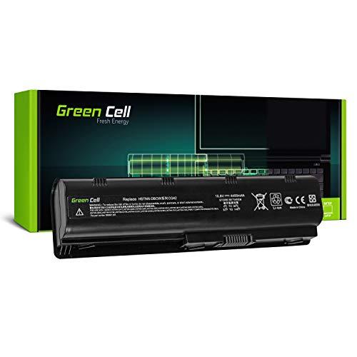 Green Cell® Standard Serie MU06 Batería para HP 250 255 2000 635 650 655 Pavilion G4 G6 G62 G7 Compaq Presario CQ56 CQ62 Ordenador (6 Celdas 4400mAh 10.8V Negro)