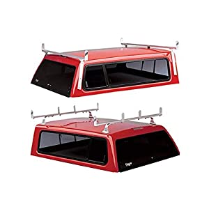 Hauler Racks Universal Aluminum Camper Shell Rack - For Full-Size Pickup Trucks with Caps, Model# C300FULL-1