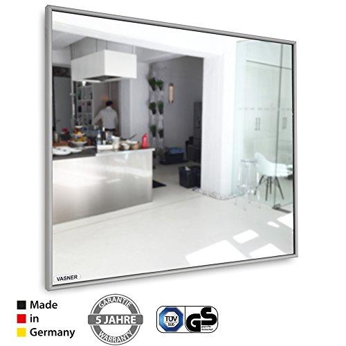 Spiegelheizung Infrarot 10 mm Alu-Rahmen 400 Watt VASNER Zipris S Flächenheizung kaufen  Bild 1*