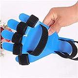 HDGRNCC Fingerschiene Griffbrett Atmungsaktiv Fingerseparator Orthesen Punkte Hand Handgelenk Training Orthese Gerät Stütze Stützbrett Schiene Apoplexie Hemiplegie Anstelle Von Gips Verwendung