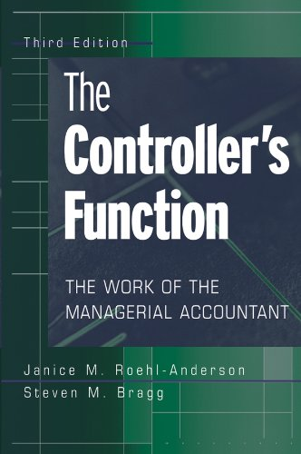The Controller's Function: The Work of the Managerial Accountant (English Edition)