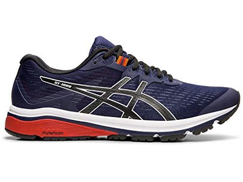 ASICS Men's GT-1000 8 (2E) Shoes, 13W, Peacoat/Black