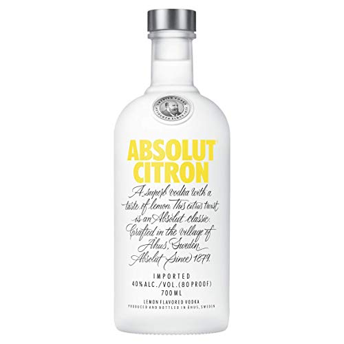 Absolut Citron Vodka - 700 ml