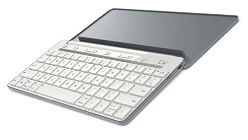 Microsoft Universal Mobile Keyboard (Tastatur, deutsches QWERTZ Tastaturlayout, grau, kabellos über Bluetooth)