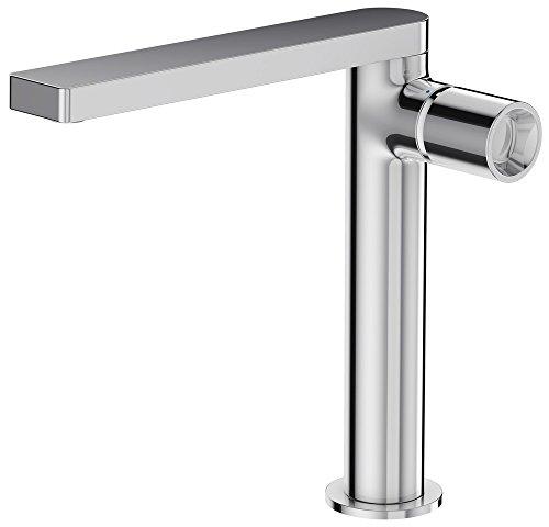 Mitigeur de lavabo COMPOSED chrome haut avec vidage en...