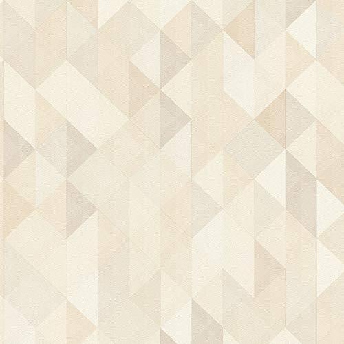 Vliestapete Vintage-Tapete 367861 36786-1 A.S. Création Scandinavian 2 | Braun Beige/Crème Grau | Muster (21 x 29,7 cm)