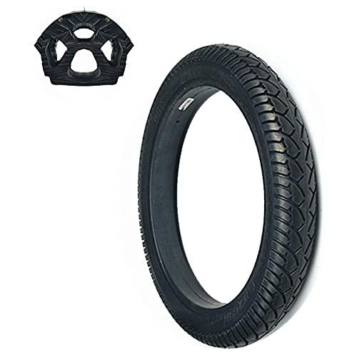 Neumático de Scooter eléctrico, 14X1.75 2.125 2.5 Neumático de Panal a Prueba de explosiones, Antideslizante y Resistente al Desgaste, Buena Elasticidad, Baja Resistencia, sin inflado