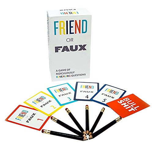 Games Adults Play Friend or Faux Game
