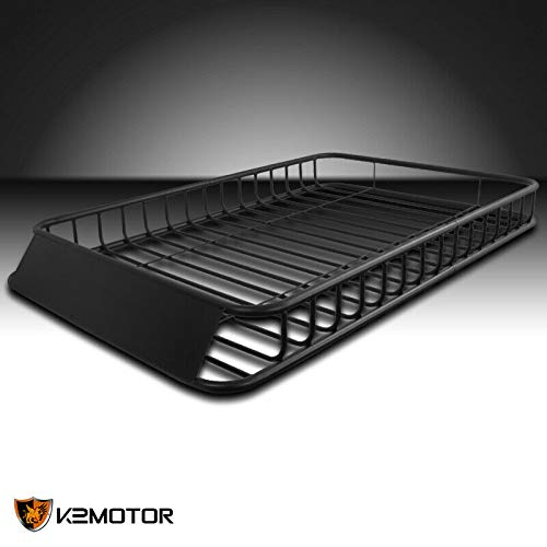 """62""""x39"""" Universal Roof Rack Luggage Hold Cargo Car Top Carrier Basket SUV Truck"""