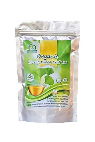 Organic Ginkgo Biloba Leaf Tea 60-Teabags