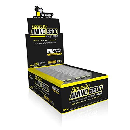 Olimp Sport Nutrition Anabolic Amino 5500 Mega Capsules, 400 g