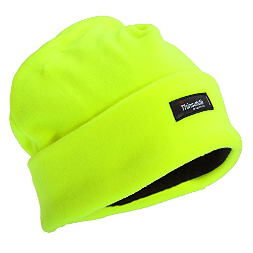 Floso - Bonnet Haute visibilité - Homme (Taille Unique) (Jaune Fluo)