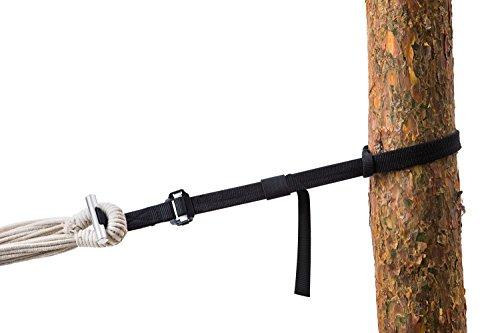AMAZONAS T-Strap Aufhänge Set für alle Hängematten baumschonend 15-220 cm und bis 200 kg pro Aufhäung