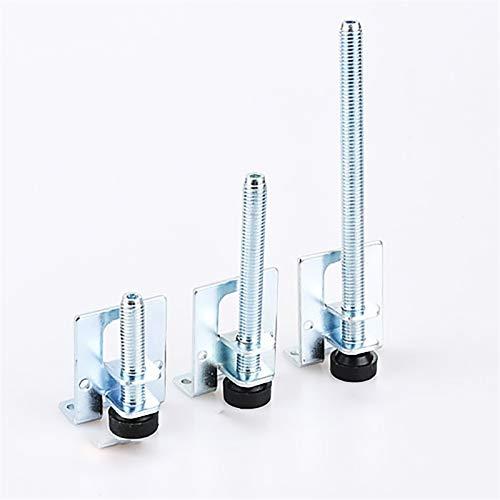 XIAOMIHU Möbelbein, 4 stücke 60/100 / 150mm Tischbeine, Metall Nivellierfüße, Schraubmöbel Verstellbare Schrank Eckhalterung Bodenschutz Hardware (Color : 4pcs 100mm)