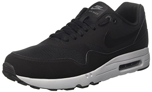 Nike Herren Air Max 1 Ultra 2.0 Essential Laufschuhe, Schwarz (Black / Black / Wolf Grey / Dark Grey), 42 EU