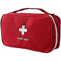 Bolsa de primeros auxilios, portátil, para casa u oficina