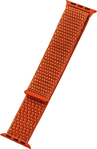 PETER JÄCKEL armband 22mm nylon oranje