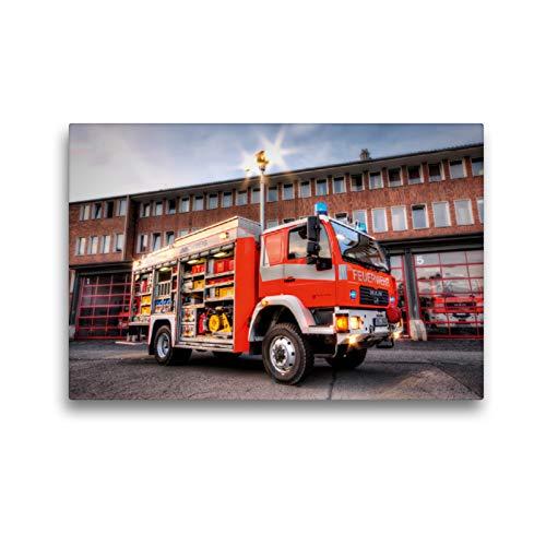 CALVENDO Premium Textil-Leinwand 45 x 30 cm Quer-Format Rüstwagen (RW), Leinwanddruck von Markus Will