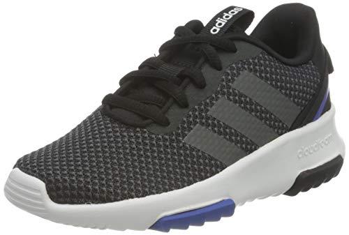 adidas Racer TR 2.0 K, Scarpe da Corsa, Core Black/Grey Six/Team Royal Blue, 40 EU
