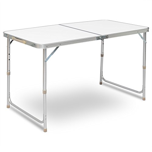 WOLTU® CPT8122sg Table de Camping Pliante Table...