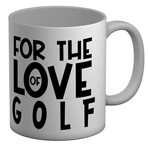Shopagift Taza grande para el amor del golf, color blanco, 325 ml