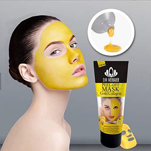 24k Gold Collagen Peel off Masks Facial Mask Whitening Anti-Wrinkle Face...