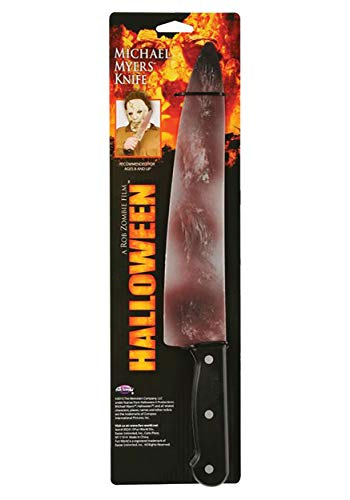 Halloween: Rob Zombie Michael Myers Knife Standard Silver