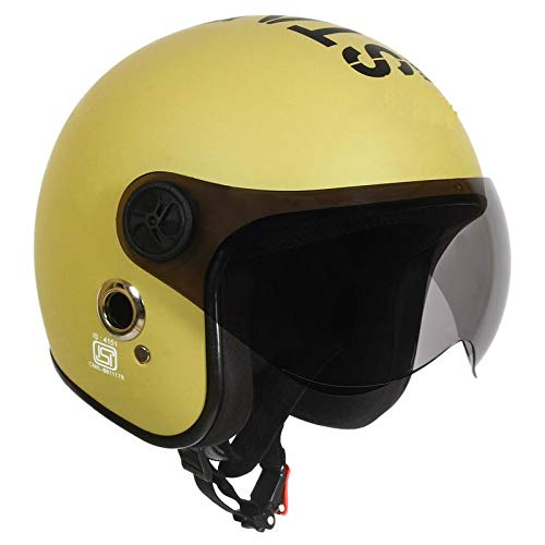 O2 Open Face Desert Storm Star1969 with Poly Carbonate Tinted Visor