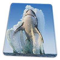 マウスパッド 飛んでいるサメ ゲーミングマウスパット デスクマット 最適 高級感 おしゃれ 滑り止めゴム底 防水設計 複数サイズ
