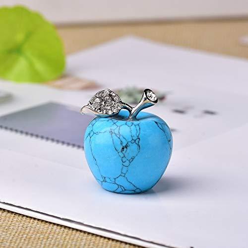 JINSUO - Decoración de cristal natural de cuarzo colorido ópalo para oficina, dormitorio, día de San Valentín, regalo de bricolaje (color: turquesa, tamaño: 1 unidad)