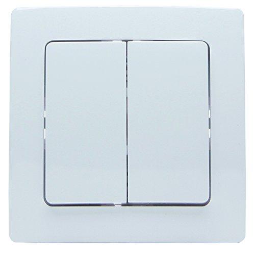 Kopp 822302128 Funk-Wandschalter Paris 2/4 Funktionen Free Control 2.0